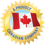 Logo Displaying A Proudly Canadian Company for Safe Step Tubs Canada