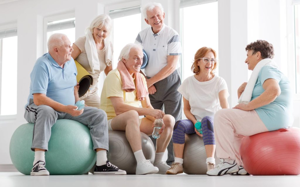 Importance of workout for Seniors